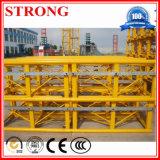 La sección del mástil/sección estándar de grúa torre/grúa de construcción