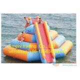 大人水スライドは販売、膨脹可能な水スライドのために水公園のスライドを使用した