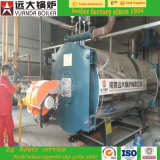 pétrole de série de Wns de prix usine 3ton/chaudières à vapeur à gaz