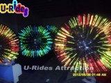 Shine PVC Zorb Ball, balle de rouleau pour les enfants et adultes