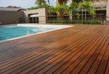 Extrem haltbarer Cumaru (brasilianisches Teakholz) Swimmingpool-HolzDecking