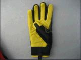 Олени снимают кожу с Anti-Vibration перчатки механика ладони (7322)