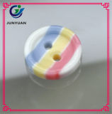 Resina Child Candy Color High Grade Round Shirt Button
