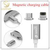 Línea trenzada cable micro del nilón del cable de Wsken X mini 1 del USB de datos del cargador magnético del cable para USB 3. O Samsung HTC Huawei de Andriod