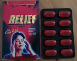 Comprimés de paracetamol GMP FDA approuvé 350mg de secours