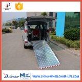 Rampa manuale della sedia a rotelle per Van con 350kg caricamento (BMWR-201)
