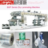 Maquinaria de laminação a seco de papel e plástico da série Bgf