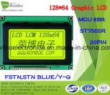128X64 écran LCD graphique, MCU 8bit, St7565r, 20pin, panneau lcd d'ÉPI