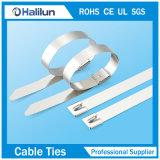 Collier coté de câble d'acier inoxydable d'UL