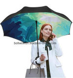 [ك] شكل مقبض يدويّة عكسيّة مستقيمة سيارات مظلة