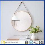 Glace en aluminium de miroir de forme rectangulaire