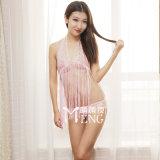 A moça mulheres lingerie sexy Nightwear-Underwear G-String Cat Babydoll Sleepwear