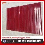 Tegel die van het Dak van het Staal van het Profiel van het Ce- Certificaat de Kleur Met een laag bedekte Machine maken