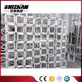 Shizhan 200*200mm kleine quadratische Aluminiumschraube/Schrauben-Binder-Rundes Gefäß