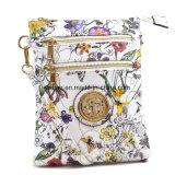Saco de couro do mensageiro das mulheres do saco do plutônio Crossbody da impressão do desenhador