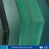 O ácido laminado modelado ultra desobstruído reflexivo endurecido Tempered/do espelho do flutuador gravou o vidro do edifício com ISO do Ce
