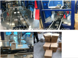 Langsame Auomatic Karton-Verpackungsmaschine für Flaschen