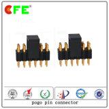 Verbinder Pogo Pin Gleichstrom-12V federgelagerter für Monitor-Gerät