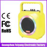 다채로운 지도 빛 대중적인 싼 재충전용 Bluetooth 스피커 F105