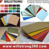 Couleur multi spéciale de panneau en aluminium de Comcposite pour le matériau de construction