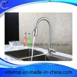 Miscelatore/rubinetto della cucina dell'acciaio inossidabile di alta qualità di vendita di prezzi di fabbrica