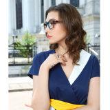 Femmes optiques de bâti de lunettes d'acétate de mode neuve de modèle de constructeur de la Chine