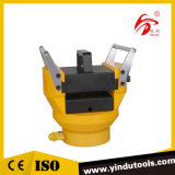 Hydraulischer kupferner Aluminiumhauptleitungsträger-prägenpresse-Maschine (HYB-150)