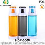 BPA ecologici liberano la bottiglia di acqua di plastica bevente, la bottiglia di acqua di plastica isolata di sport (HDP-3068)