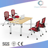 Mobiliário de escritório funcional Mesa de mesa de madeira Mesa de reunião