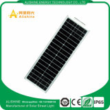쉬운 30W IP65는 LED 태양 거리 조명을 설치한다
