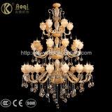 Luxus und Präfekt-doppelte Farben-Kristallleuchter-Licht