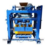 Bloco concreto do tijolo do cimento Qt40-1 manual que faz a máquina