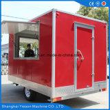 Restauração móvel feita sob encomenda Van do alimento do indicador