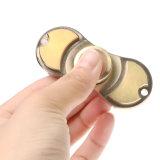 4分針指の紡績工上の純粋な真鍮の落着きのなさのおもちゃ