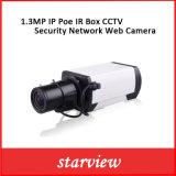 câmera de Web da rede da segurança do CCTV da caixa do ponto de entrada IR do IP 1.3MP