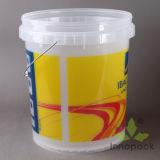 Ведро краски 18 литров с ведерком крышки пластичным с ручкой