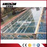 Portable bauen Glas-Stadium des Swimmingpool-LED zusammen