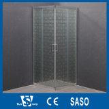 Pièce jointe en verre de douche de porte coulissante (SW-815S)