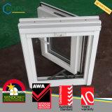 耐衝撃性ビニールの三重の窓ガラスは蚊帳とのWindowsを振る