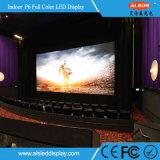 스크린 표시를 광고하는 실내 조정 P6mm 고품질 LED 영상 벽