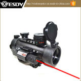 Im Freien Jagd 1X30 roter grüner PUNKT Anblick mit rotem Laser
