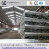 Redondo de Aço Galvanizado médios quente tubos ou canos para material de construção