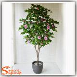 Ome Innendekoration-Fälschungs-eingemachter Pflanzenblumen-Baum