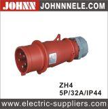 Soquete industrial fêmea de IP44 5p 32A para industrial