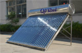 acier inoxydable à haute efficacité chauffe-eau solaire avec Approbation CE