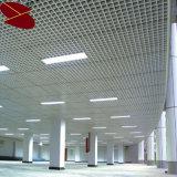 Plafond d'aluminium métal Grille, les applications commerciales les carreaux de plafond de bord
