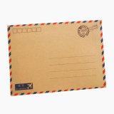 Stampa della busta della lettera personalizzata alta qualità della carta kraft