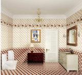 azulejo brillante esmaltado inyección de tinta de la pared de la porcelana interior de 300X450m m para el servicio