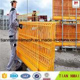 Panneau de clôture recouvert de PVC Plaque de clôture en bon fabricant