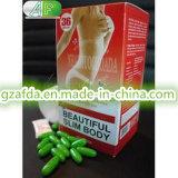 草の美しく細い体重の損失の食事療法の丸薬
